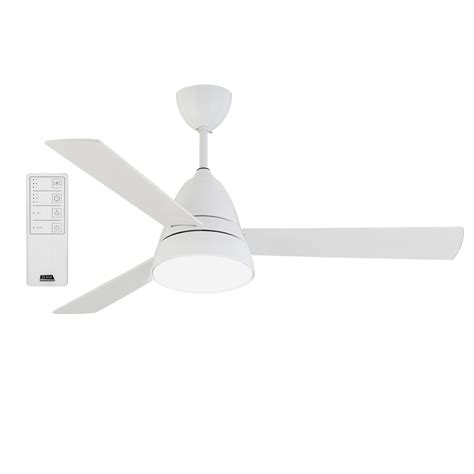 ceiling fan with led light and remote zenta 133cm grande 3 blade ceiling sweep fan with led