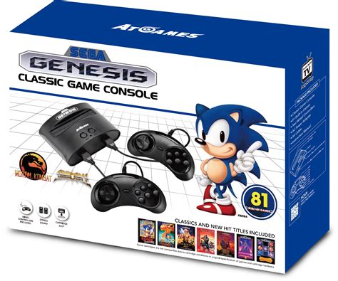 sega new console atari flashback 8 sega genesis classic console 2017