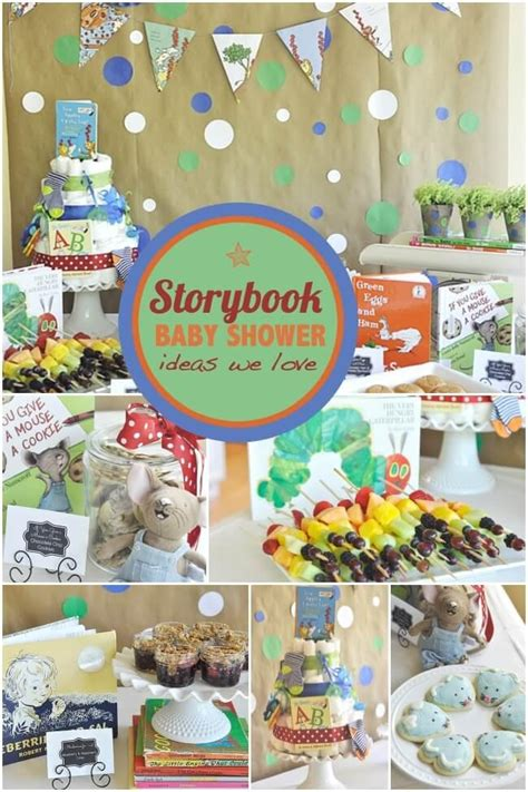 A Storybook a storybook themed baby shower spaceships and laser beams
