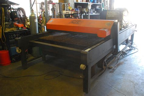plasma cutting table cnc plasma cutting table 5x10 ft with esab esp 100i