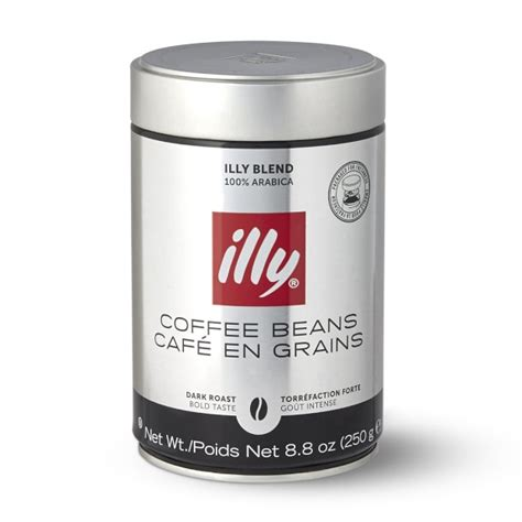 Coffee Bean Illy illy coffee whole beans roast williams sonoma