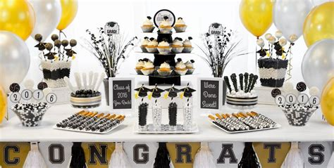gold team themes black and gold graduation decorating ideas black gold