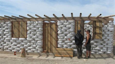 sandbag home in africa cool eco ideas