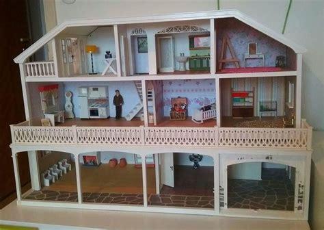 doll house dallas annons p 229 tradera lundby herrg 229 rd dallas med m 246 bler docksk 229 p dockhus dockhus pinterest