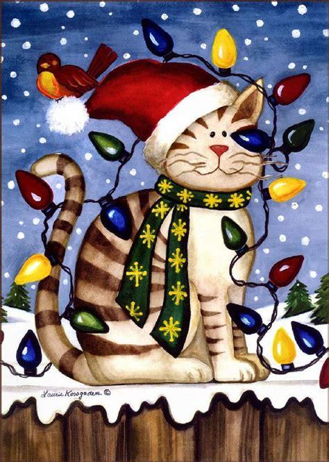 christmas kitty lights   christmas cats visit httpswwwfacebookcomfunholidaycats