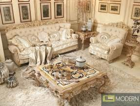 Italian Living Room Sets by 3pc Italian Luxury Style Living Room Sofa Set Bellissima