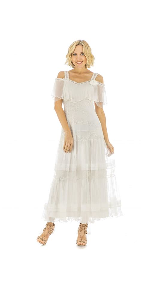 Vintage Ivory Wedding Dresses by Nataya 40271 Vintage Style Wedding Dress In Ivory