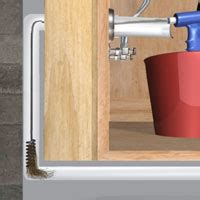 unclog a sink or lavatory drain 1 rona