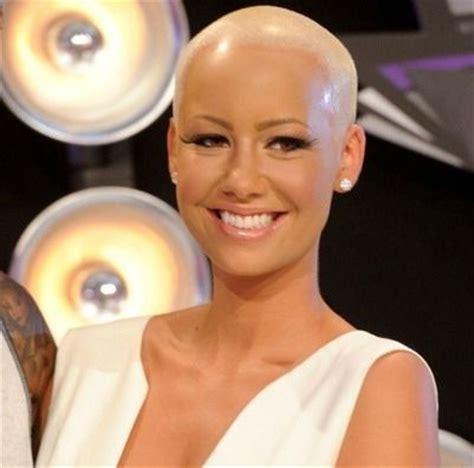 bald women in formal dress best 25 amber rose movie ideas on pinterest amber rose