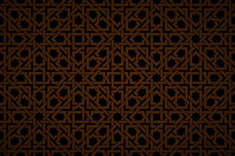 islamic geometric interwoven wallpaper patterns