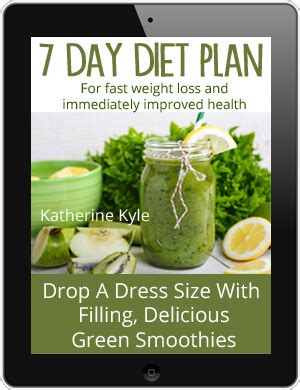 7 Day Green Smoothie Detox Recipes by Green Smoothie 7 Day Detox Diet Plan