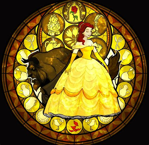 down the rabbit hole disney themed stained glass