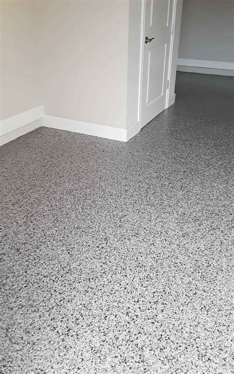Garage Epoxy Flooring Double Broadcast Flakes   Advance