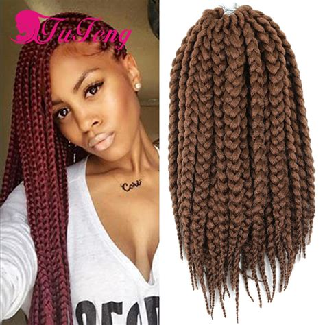 using differentcolored extensions for senegalesetwist crochet braids box braids hair hhavana mambo twist box