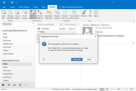 configure xp to send email check outlook emails before sending them outgoing email