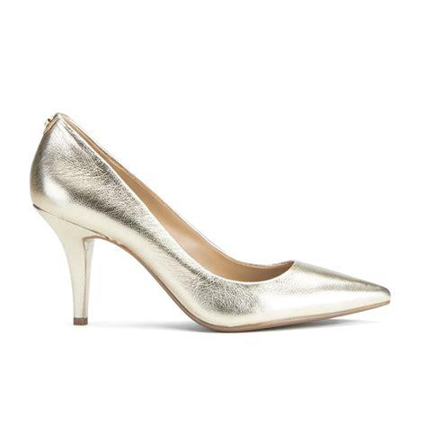 michael michael kors s mk flex leather court shoes
