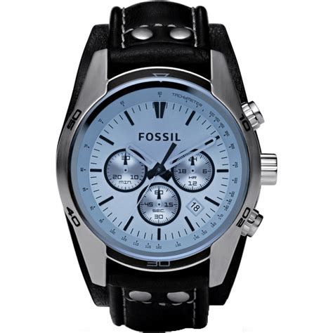 Fossil Rantai Tanggal Silver Cover Black ch2564 mens fossil watches2u