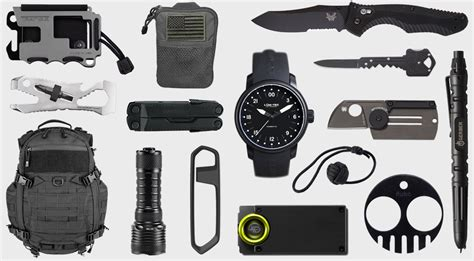 every day carry tactical everyday carry 20 tactical edc essentials hiconsumption