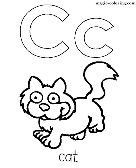 preschool coloring pages letter c letter c coloring pages preschool and kindergarten