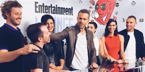 deadpool cast deadpool cast at sdcc nerdspan