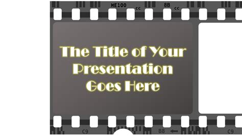 film strip animated powerpoint slide youtube
