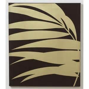 Animal Print Shower Curtains - graham amp brown gold palm fabric wall art 42624