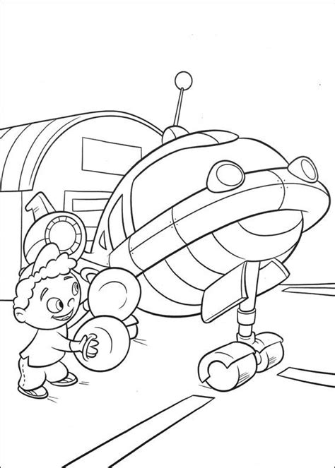 kids n fun com 27 coloring pages of little einsteins