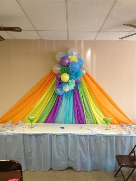 Baby Shower Table Cloths by Best 25 Plastic Tables Ideas On Table