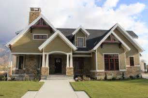 craftsman design homes front exterior craftsman exterior salt lake city by jcd custom home design
