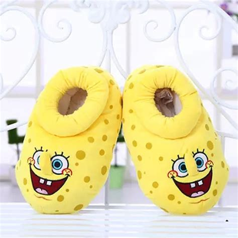 spongebob house shoes popular adult spongebob slippers buy cheap adult spongebob slippers lots from china