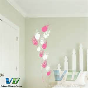 Peacock Feather Wall Sticker Pics Photos Peacock Feather Triptych Wall Decal
