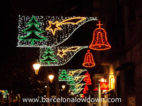 classic christmas light lights 2013 barcelona lowdown