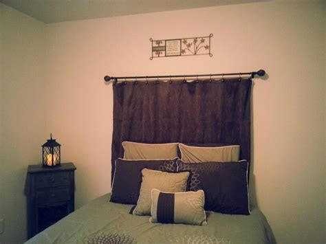 curtains for headboard 25 best ideas about shower curtain headboard on pinterest