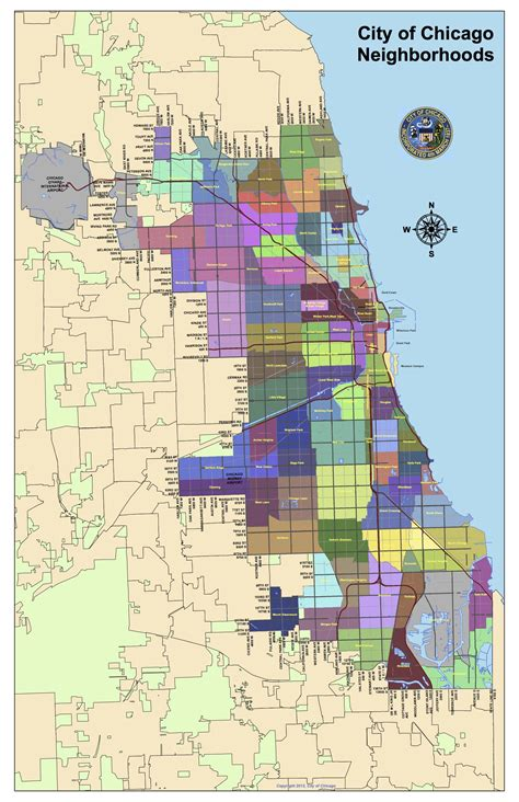 chicago map of neighborhoods curious city wbez answers how chicago neighborhoods are