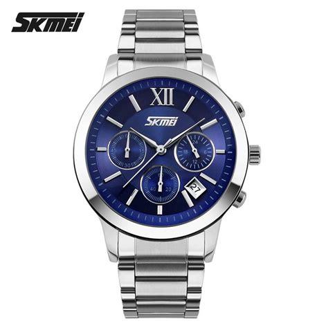 Jam Tangan Bandung Wanita Bregenz Stainless Waterrsistant Skmei skmei jam tangan analog pria 9097cs blue