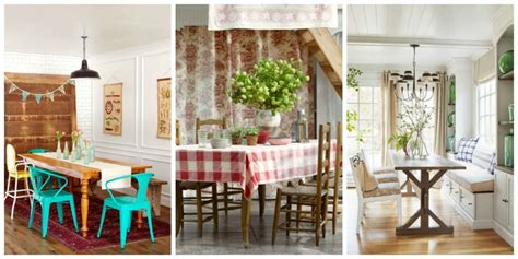 dining room decorating ideas country decor photo wall