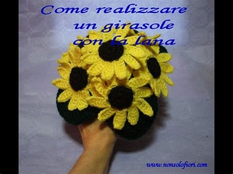 come realizzare fiori all uncinetto come realizzare un girasole alluncinetto my crafts and