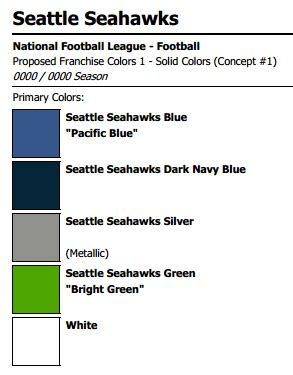 seahawks color seattle seahawks colors gohawks seahawks colors
