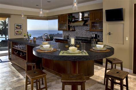 round island kitchen hanging around the kitchen island decohoms