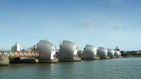 thames defence barrier flood barrier called maeslant kering protects zeeland and