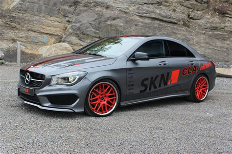 mercedes tuner skn tuning wrings 298kw from mercedes 250