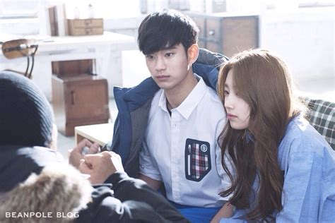 kim so hyun and bts pictures 140307 beanpole wind breaker cf making bts