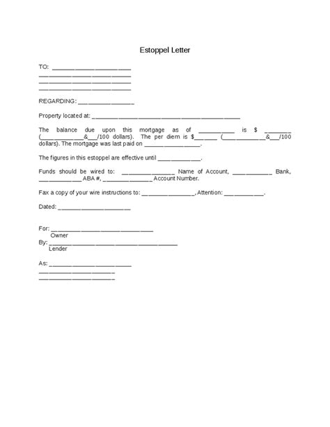 estoppel certificate template estoppel certificate template condo financials