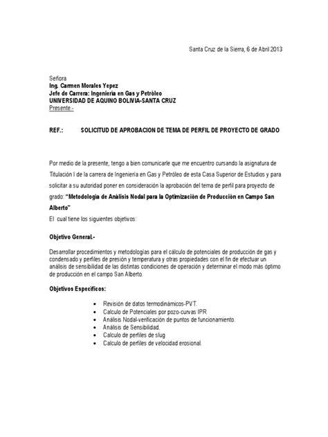 formato solicitud a una autoridad administrativa gratis carta de solicitud de aprobacion tesis