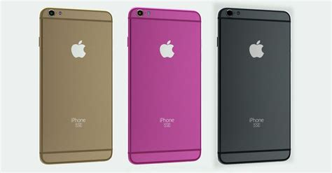 will the new iphone 5se or iphone 6c look like this