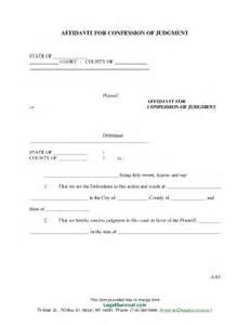 affidavit confession fill online printable fillable