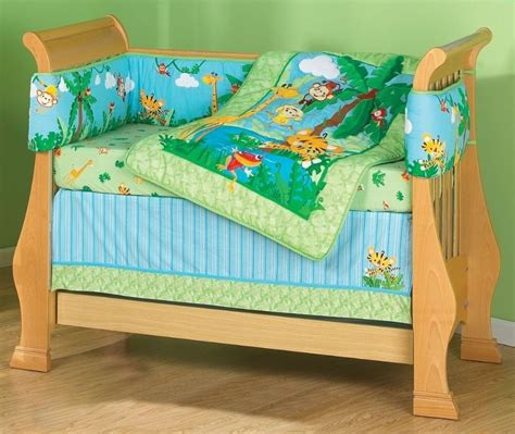 fisher price rainforest crib bedding fisher price animals of the rainforest boy s nursery room