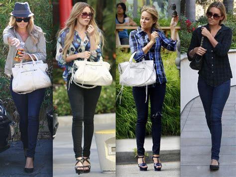 celebrity style lauren conrad celebrity street style stylebistro