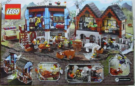 Lego 10193 Market lego 10193 market set parts inventory and