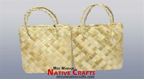 Bags For Giveaways - lauhala or pandan mini gift bag mini bayong for giveaways